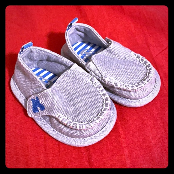 Gray Baby Shoes size 1